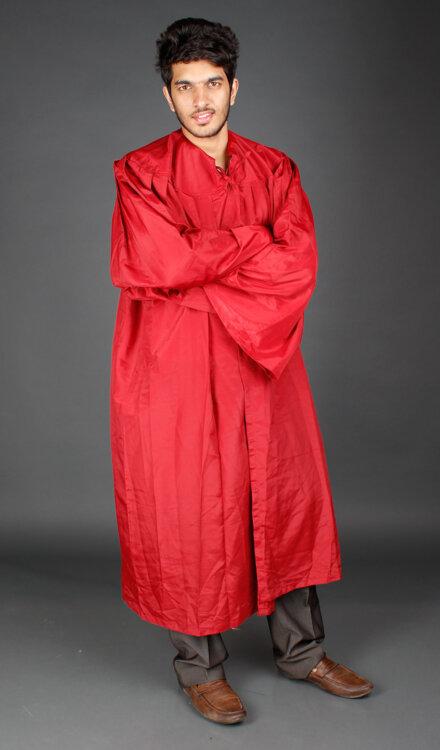 RED GRADUATION COSTUME