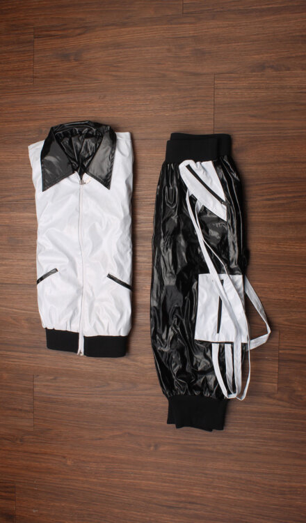 BLACK AND WHITE HIP HOP