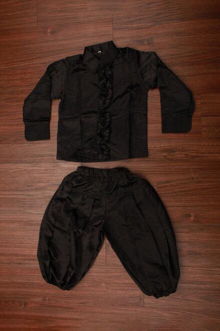 BLACK SHIRT AND HAREM PANT