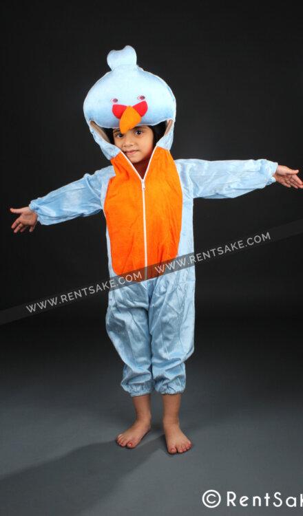 BLUE ANGRY BIRD COSTUME
