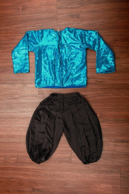 BLUE JACKET AND PANT