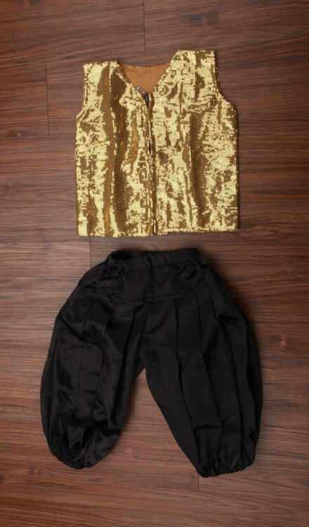 GOLDEN JACKET AND PANT