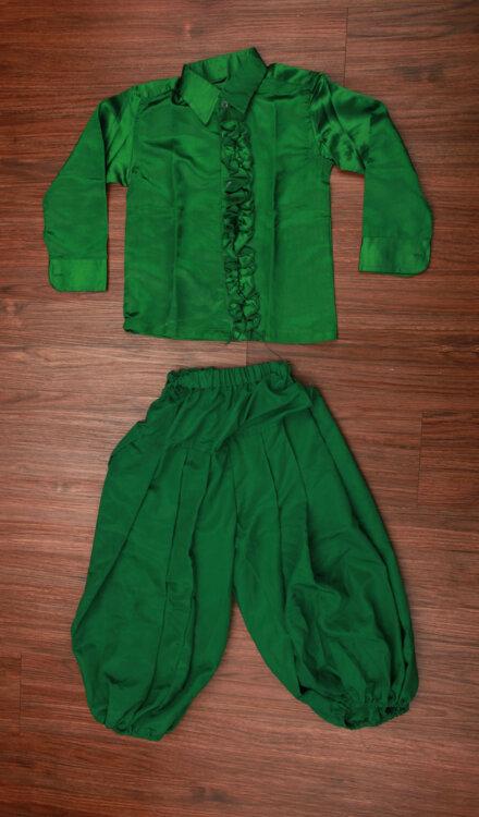 GREEN SHIRT AND HAREM PANT