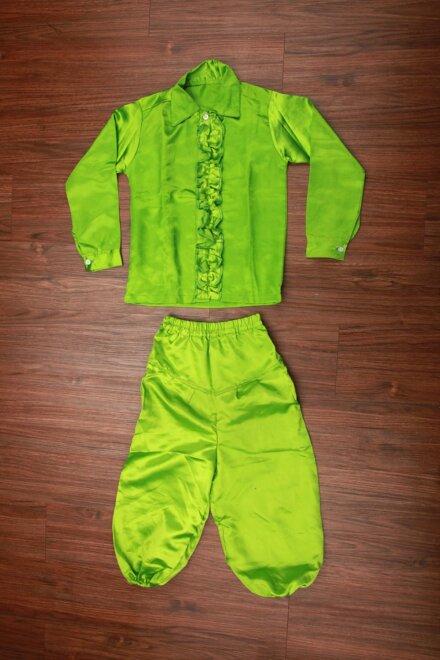 PARROT GREEN SHIRT AND PANT