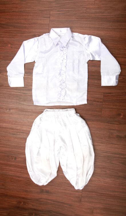 WHITE SHIRT AND HAREM PANT