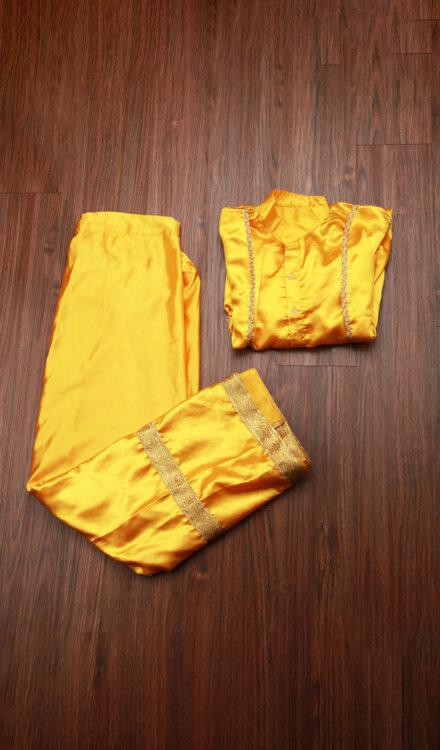 YELLOW BHANGRA DRESS