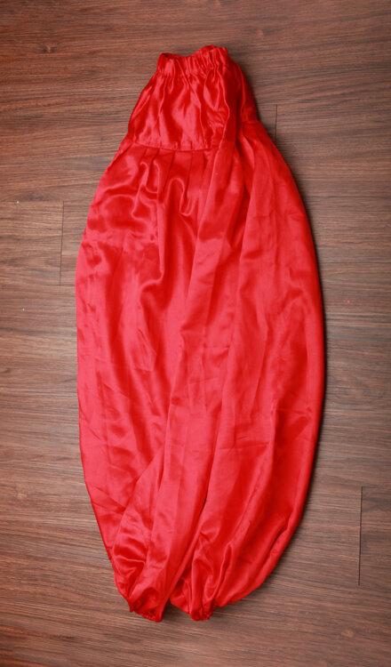 RED HAREM PANT
