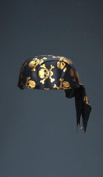 BLACK PIRATE HAT
