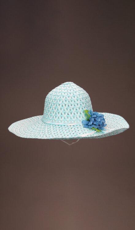 SKY BLUE NET HAT