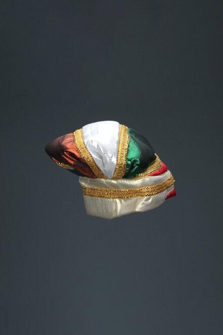 TRICOLOUR MUGHAL HAT