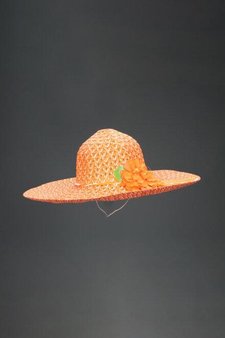ORANGE NET HAT