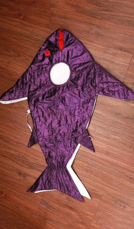 VIOLET FISH COSTUME