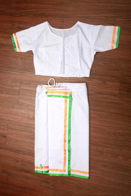 BHARAT MATA COSTUME