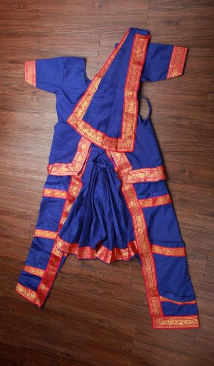 BLUE BHARATNATYAM