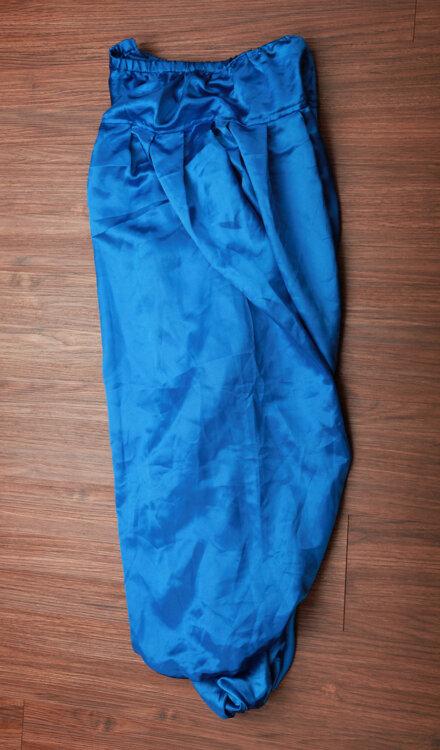 BLUE HAREM PANT