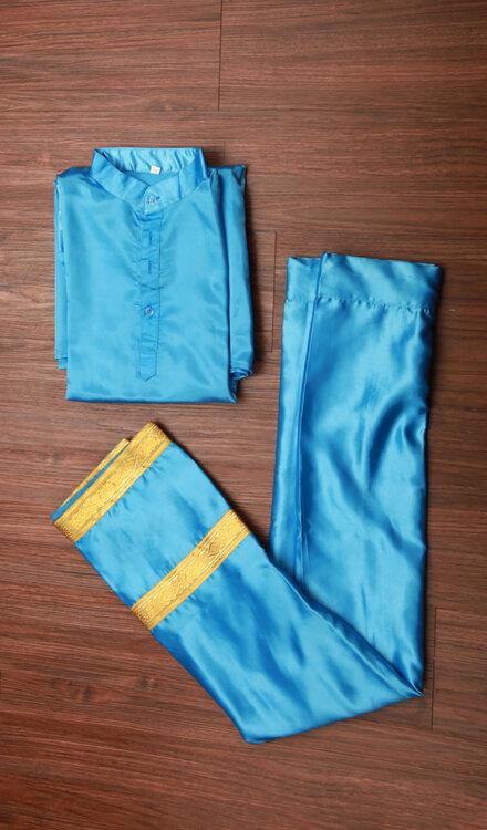 BLUE BHANGRA DRESS