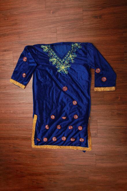 BLUE KASHMIRI DRESS