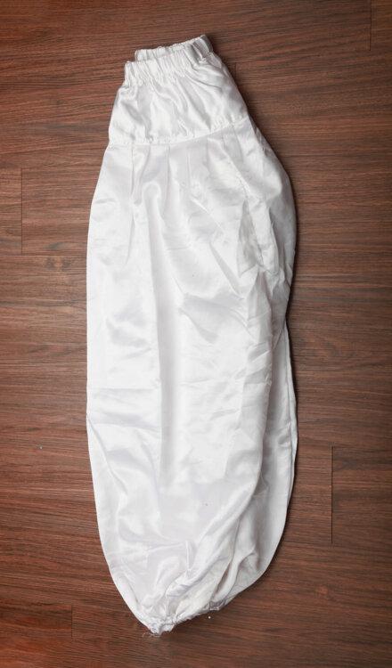 WHITE HAREM PANT