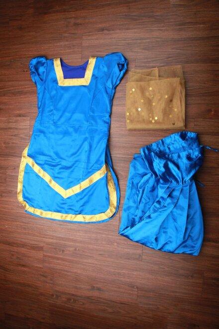 BLUE PUNJABI COSTUME