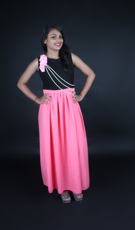 BLACK PINK GOWN