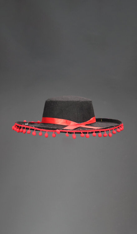 BLACK RED HAT